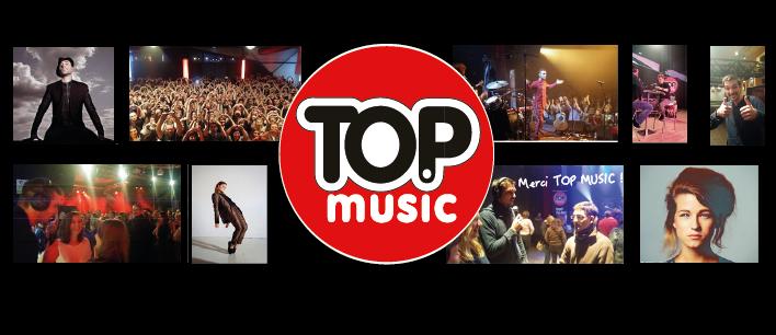 TOP MUSIC partenaire des rands évènements en Alsace