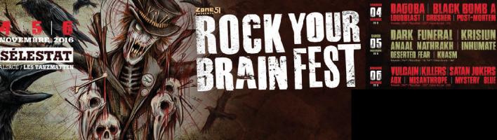 gagnez vos places pour le festival Rock Your Brain Fest 2016 avec TOP MUSIC